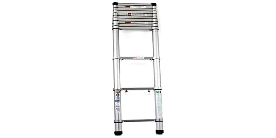 Extend Ladder 12 5 : Telesteps ft telescopic extension ladder