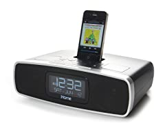 App-Enhanced Clock Radio for iPhone/iPad