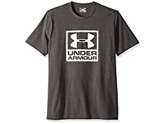 Under Armour Men's Branded Box Short Sleeve Athletic Shirt