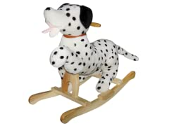 Dalmatian Rocker with Wagging Tail