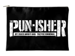 """""""The Pun-isher"""" Accessory Pouch"""