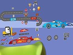 Peel & Play Full Set- Race Car