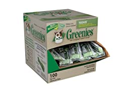 Greenies Mini-Me Teenie Dental Bones - 100pk
