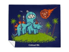Critical Hit Remix Mink Fleece Blanket