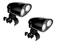 2-Pack Ultra Bright LED Barbecue Grill Lights