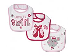 Dancer 3-Pack Terry Bibs