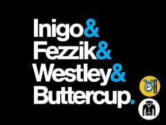 Inigo & Fezzik & Westley & Buttercup Zip Hoodie