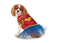 Rubie's Wonder Woman Pet Tutu Dress, MD