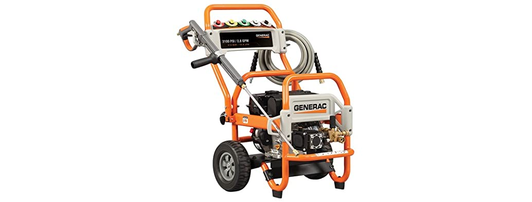 Generac 3,100 PSI Gas Powered Pressure Washer