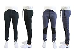 Men's Moisture Wicking Tech Joggers 2PK