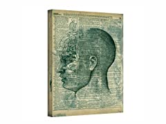 Right Brain Thinker - Wrapped Canvas (3 Sizes)