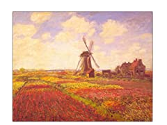 Monet Tulips in a Field (2 Sizes)