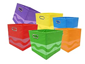 Crayola 6-Piece Storage Bins (Your Choice)