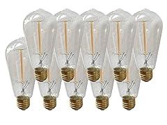 Vintage Edison Bulbs 40W 10-Pack