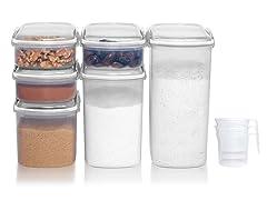 Sistema Klip It - 15-Piece Clear Bakery Set