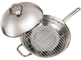 Master Pan MasterWok Multi-Use Wok, 13""