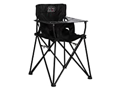 Ciao! Baby Black Portable High Chair