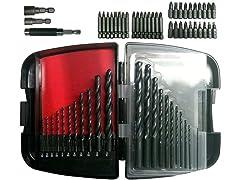 Craftsman 57-Piece Drill/Driver Bit Set