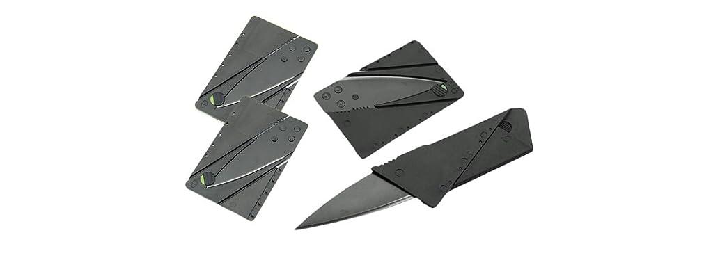 Carbon Fiber Credit Card Knives, 4 Pack