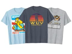 The Letter W Shirts!