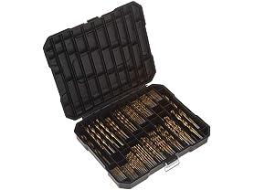 230-Piece Titanium-Coated Drill Bit Set