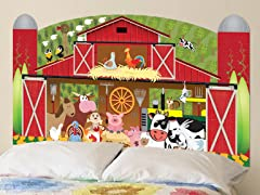 Peel & Stick Headboard (Twin or Full) - Farm