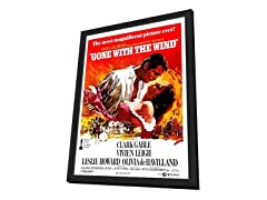 Gone With the Wind Framed Movie Poster