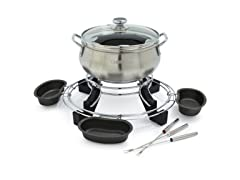 Cuisinart Electric Fondue Brushed Chrome