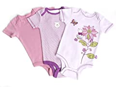 Disney Cuddly Bodysuit - 3 Pack (0-3M)