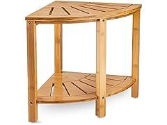 Bamboo Corner Shower Bench