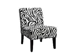 Sanibel Zebra Accent Chair