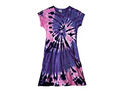 Womens A-Line Dress - Purple Pink (S-XL)