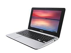 "Asus 11.6"" Dual-Core 16GB Chromebook"