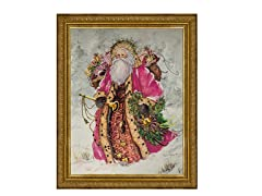 Pink Santa (2 Frame Colors)