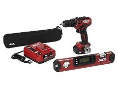 SKIL Brushless Drill and Digital Level Kit