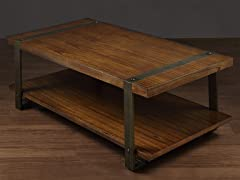Rectangular Cocktail Table: Mindy