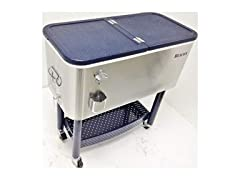 Beacon Rolling Party Cooler with Storage