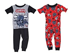 Star Wars 4-Pc Cotton PJ Set (2T-4T)