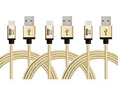 Rhino Micro USB Cables - 3 Packs