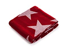 Jacquard Blanket Throw - Stars