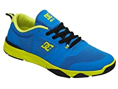 Unilite Flex Trainer Shoes - Blue/Yellow