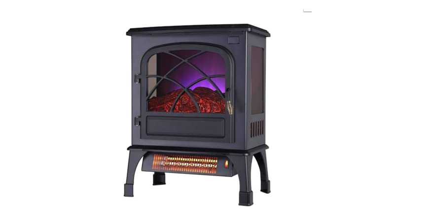 Warm Living Deluxe Electric Infrared Stove Heater