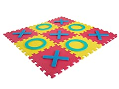 Giant Interlocking Foam Square Tic-Tac-Toe Game