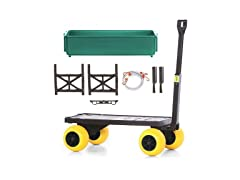 Mighty Max Flatbed, Caddy, & Garden Cart