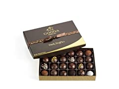 Godiva Assorted Dark Chocolate Truffles
