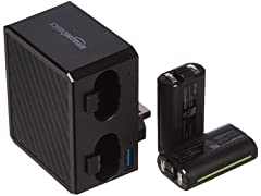 AmazonBasics Battery Pack Charger For Xbox One Controller