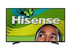 """Hisense 40"""" 1080p 60Hz LED HDTV"""