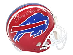 Thurman Thomas Signed Replica Red Bills