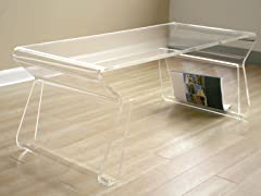 Gremio Acrylic Coffee Table