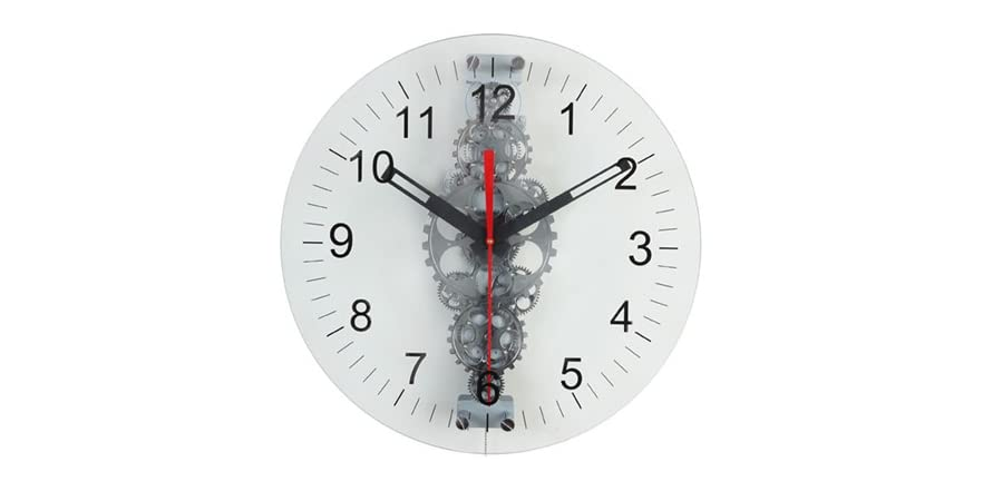 24 Quot Large Moving Gear Wall Clock